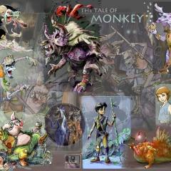 Monkey Character Design